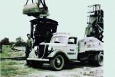 New Branch of H A Newport Fordham. Regitered as Allen Newport Ltd in 1934. Driver Mr L Smith.