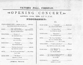 From  conception Jan. 1897. to Apr. 1898 the opening ceremony.Just sixteen months and every thing was moved by train and horse and cart.
