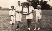 Fordham School  Blue Team Menmbers,  Winners of the annual shield  Competition ( Circa 1935)