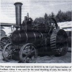 Engine purchased new by Mr C Dunn-Gardiner in 1903.