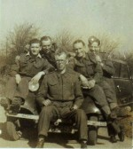 Members of the home guard