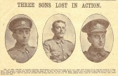 Three brothers from Cherry Hinton
