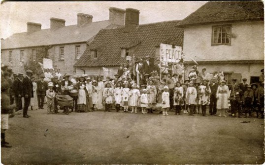 Peace celebrations in Whittlesford