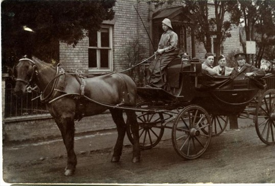 Great War wounded in Whittlesford