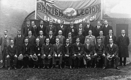 Linton British Legion in 1919