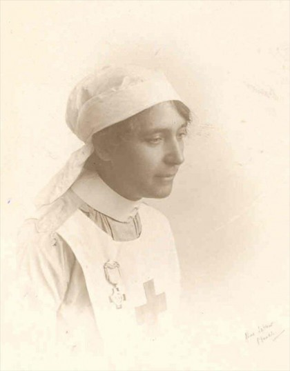 Lizzie Lavender from March, a nurse during the Great War