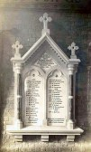 Great War memorial at Manea church
