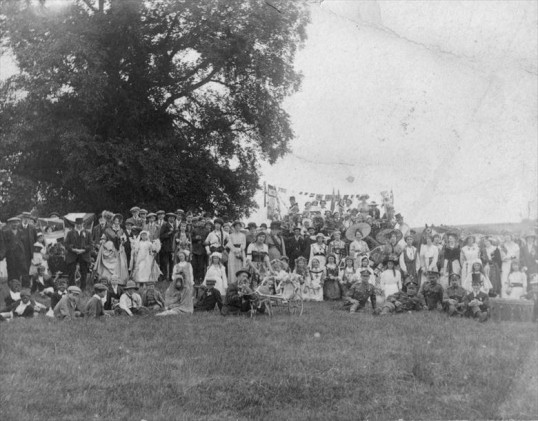 Orwell residents celebrating peace in 1919