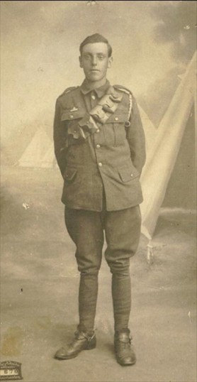 Percy Constable, Great War soldier, Mepal
