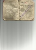 Great War Permit book