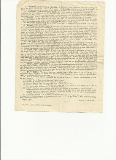 WWI-ration-order-b