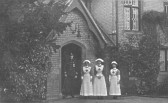Staff at VAD Hospital, Histon