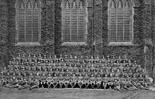 Officers Training Corps 1917 NZ Pioneer (Maori) Battalion