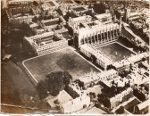 An early view of Cambridge from the air!