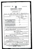 Attestation paper for Howard Charles Hurl, St Ives -11th September 1914