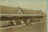 Histon VAD hospital, The Verandah