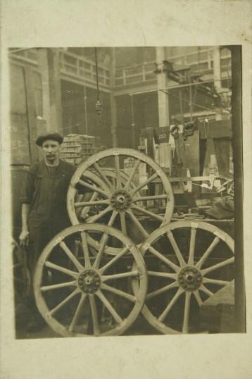 Histon - Charles Ison, wheelwright, 1916