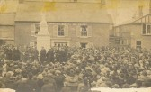 Dedication of Soham War Memorial, 1921