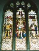 Wilburton church war memorial window