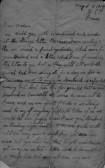 Letter about C W Stevens