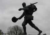 Cambridge War Memorial, Hills Road/Station Road corner