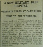 News on 1st Eastern General Hospital