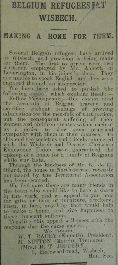 Belgian-Refugees-in-Wisbech