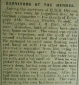 HMS Hermes Survivors