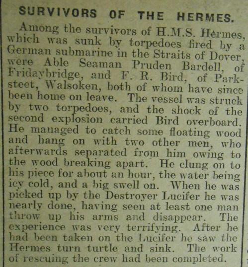 HMS-Hermes-Survivors