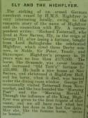 HMS Highflyer and Ely