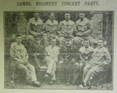 Cambridgeshire Regiment Concert Party