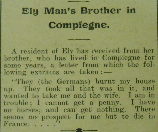 Plight of Ely Woman