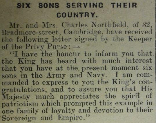 Six Sons Serving