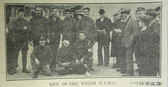 Welsh RAMC at Wisbech