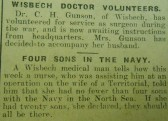 Wisbech Doctor Volunteers