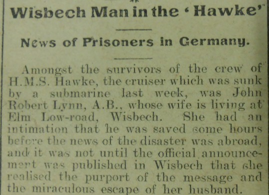 Wisbech Man Prisoner