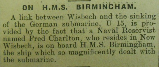 Wisbech Man in the Navy