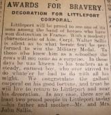 Award for bravery