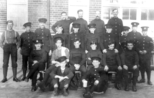 11th Suffolks in Cambridge circa 1914