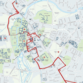 Cambridge and The Great War Walking and Cycling Map