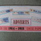Adverts collected from local newspapers