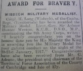 H. Long Awarded for Bravery