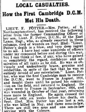 10 Potter news report