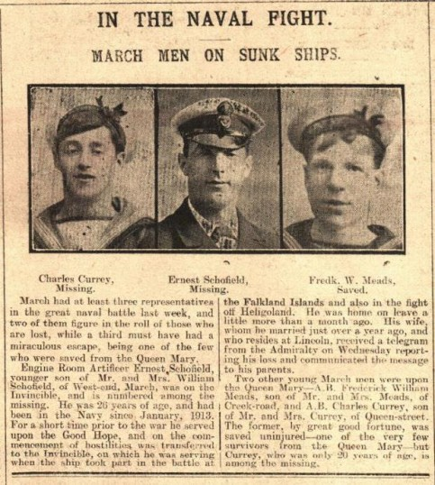 March Men on Sunk Ships