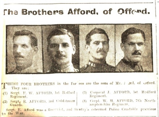 The Afford brothers of Offord
