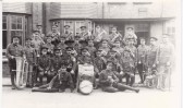 The band of the Huntingdonshire Cyclist Battalion