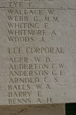 Anderson, George Edward Lance Corporal Regiment number 16364 11th Suffolks.Died 1st July 1916. From Romsey Cambridge