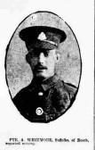 Private Alfred Whitmore 15210