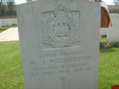 Wilderspin, William Joseph,Regiment number 15901, died 1/7/1916.From Histon. Was my great uncle.