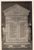 Gorefield War Memorial